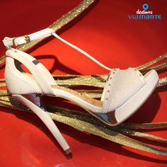 Sandália de salto alto – nude – heels – party shoes - Ref. 14-19003 – Verão 2015