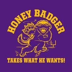 Loving the Honey Badger!