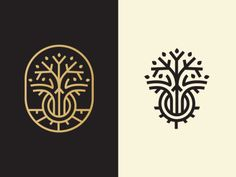 "dribbblepopular: ""Growth Logo http://ift.tt/1Kw7x35 """