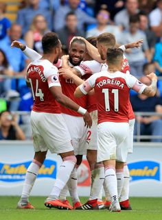 Cardiff vs Arsenal LIVE: Premier League latest score, goals and updates Arsenal Football, Football And Basketball, Football Players, Soccer, Arsenal Fc, Premier League Teams, English Premier League, Cardiff, Football