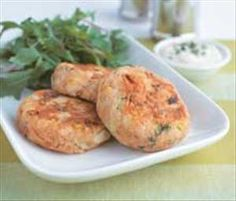 Tuna patties 70 kcal per pattie