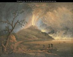 Mt vesuvius erupting 1779 eye catching pinterest