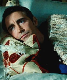 Lee Pace ~Of all his colorful characters, it is Daisies' melancholy Ned to which he can most relate. The whimsical character's ability to revive the dead with just one touch comes with an unfortunate curse—a second touch will render the revived permanently deceased. That means no kissing his pretty, resurrected, crime-solving partner portrayed by Anna Friel, or petting his precious pooch, Digbee.