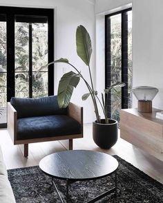 This is the living room of the DolansBayResidence which is a 5 bedroom home we redesigned nestled amongst the trees in Sydney's south.   Designed By Triibe
