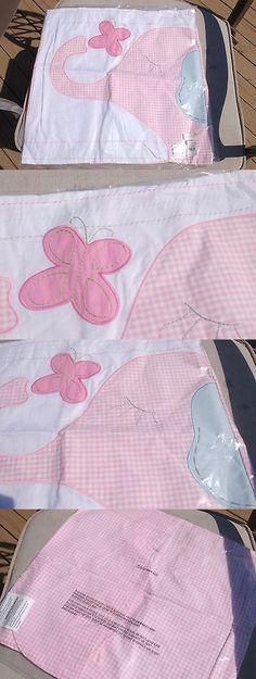 Pillowcases and Shams 124327: Pottery Barn Kids Eli S Pink Elephantgingham Nursery Decorative Sham Cover Girl -> BUY IT NOW ONLY: $34.21 on eBay!