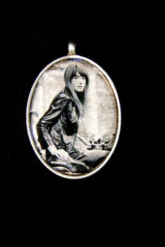 Film noir necklace by RenatasArt on Etsy, €12.00