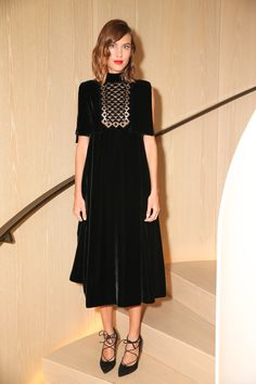 Alexa Chung - Refinery29 Party @ New York Fashion Week. (10 September 2015)