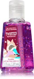 CHRISTMAS GIFTS! ~ Twisted Peppermint PocketBac Sanitizing Hand Gel - Soap/Sanitizer - Bath & Body Works