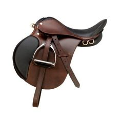 English Horse Saddles | The Exmoor Collection | Down Under Saddle ❤ liked on Polyvore featuring horse and horse stuff
