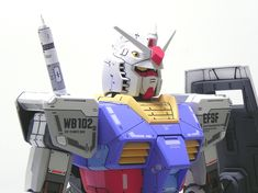 1/48 Mega Size RX-78-2 Gundam Customized Painted Build - Gundam Kits Collection News and Reviews