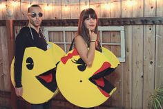 Couples Halloween Costume: DIY Pacman
