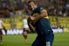 Carlos Tevez | Boca Juniors (2) vs Lanus (0) | Copa Argentina Semifinals | Las imágenes de Boca-Lanús | Fútbol | El Gráfico Diario