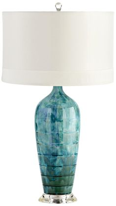 Elysia Blue Table Lamp -