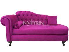 Diván Pana Fucsia - Comprar en Nylman Deco Love Seat, Household, House Design, Couch, Living Room, Furniture, Chairs, Home Decor, Tattoos