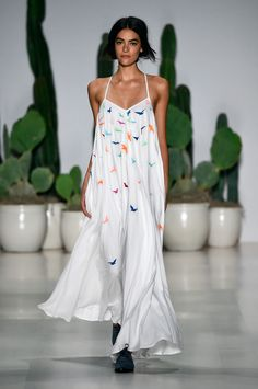Mara Hoffman Spring 2015 RTW But not with those shoes.