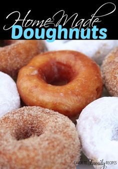 These doughnuts are delicious! We coated some with cinnamon and sugar, some with powdered sugar, and even glazed a few. The possibilities are endless!