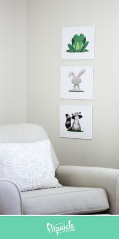 Flipside Prints   Woodland forest animal wall art for modern boys bedroom, girls room or nursery Bedroom Girls, Woodland Forest, Forest Animals, Build Your Own, Nursery, Wall Art, Boys, Modern, Prints