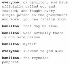 I apologize to everyone whose feed is suddenly filled with Hamilton stuff you don't care about because of me.