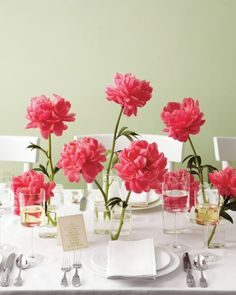 "Add a bit of ""wow""—and a visual focal point—to your reception tables with one of these easy wedding centerpiece ideas."