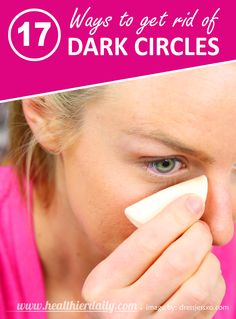 How to Get Rid of Dark Circles Under Eyes #DarkCircles #Eyes