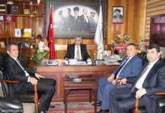 BEÜ REKTÖRÜ PROF. DR. ÖZER, GMİS'İ ZİYARET ETTİ