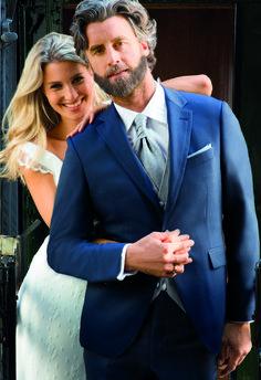 Pánsky oblek modrý svadobný salón valery Marie, Salons, Suit Jacket, Breast, Suits, Formal, Jackets, Style, Fashion