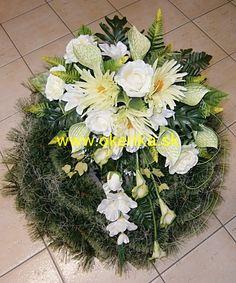 Pohrebná služba Okenka   Nitra - FOTOGALÉRIA - Vence z umelých kvetov