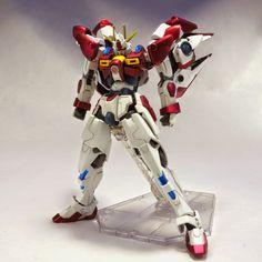 GUNDAM GUY: 1/144 Build Blazing Gundam - Custom Build