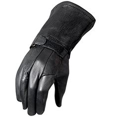 Special Offers - Hot Leathers Classic Deerskin Gauntlet Gloves (Black Large) - In stock & Free Shipping. You can save more money! Check It (November 26 2016 at 06:51AM) >> http://motorcyclejacketusa.net/hot-leathers-classic-deerskin-gauntlet-gloves-black-large/