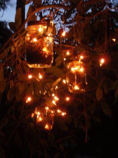 Mason Jar Firefly Lanterns - 10 Jars $40.00