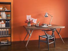 Orange Interior, Paint Brands, Modern Colors, Color Trends, Courtyards,  Images,