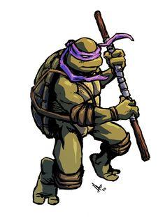 TMNT Donatello by hugohugo.deviantart.com on @deviantART