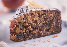 Mrs. MacKinnon's Christmas Fruitcake  I have to try this, it sounds like my Grandmother's.