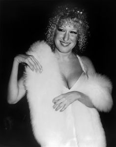 Nov. 7, 1979 — Bette Midler at the premiere of The Rose.