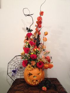 Image result for halloween. buttonhole flower arrangements