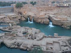 Shushtar Historical Hydraulic System, (Persian: سازههای آبی شوشتر) is an island city from the Sassanid era with a complex irrigation system, situated in Iran's Khuzestan Province.