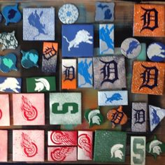 All in a days work Detroit State, Michigan State Spartans, Detroit Lions, Day Work, Xmas Ornaments, Tigers, Magnets, Coasters, Pride