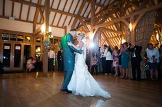 Gaynor and Lennox real life wedding at Rivervale Barn - First dance | CHWV