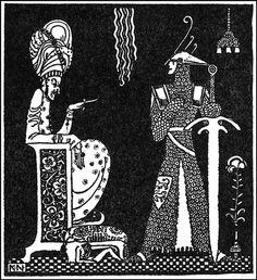 Kay Nielsen's Stunning 1914 Illustrations of Scandinavian Fairy Tales   Brain Pickings