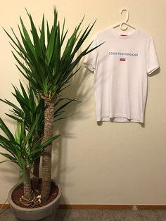 169457a69b7eec Gosha Rubchinskiy Large Logo Tee Shirt White Size M  184 - Grailed Gosha  Rubchinskiy, Tee
