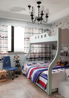 American style kids room pictures 2016