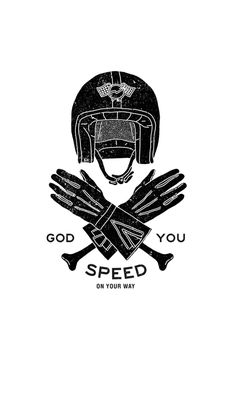 Black'n'White on Behance #illustration #motorcycles | caferacerpasion.com