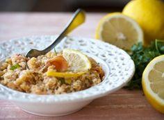 Receita Dedo de Moça: Salada de lentilha com salmão defumado, molho de limão siciliano e dill