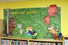 Bulletin Board For Monster Camp. The Gruffalo and The Lorax