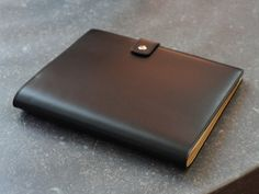 LE CAHIER. Fine leather notebook collection for DELVAUX.   Based on the new Atoma Book system designed for ATOMA.