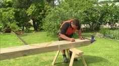 How to Build a Pergola   Mitre 10 YouTube video. Step-by-step; definitely subscribed for more DiYs