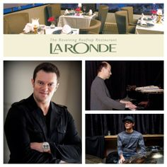 This weekend! Friday Nov 22 & Sat Nov 23! 7:30-10:30pm! The Jeff Hendrick Trio performs Jazz & Soul for the first time ever at the amazing La Ronde Revolving Rooftop Restaurant at the Crowne Plaza Hotel Chateau Lacombe in downtown Edmonton! Featuring keyboardist Bob Kitt and drummer Shaquille Headley ! Famous for its incredible view, La Ronde restaurant is Edmonton's premier fine dining restaurant located on the 24th floor of Chateau Lacombe Hotel.