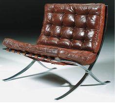 Barcelona Chair | Ludwig Mies van der Rohe ca.1929