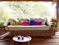 Cómo combinar colores para casas de verano