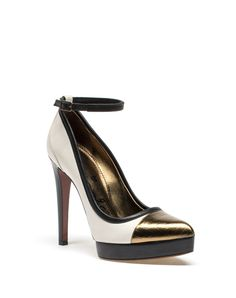Lanvin - PUMP WITH ANKLE STRAP